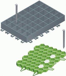 travne rešetke Recyfix Green - Hauraton