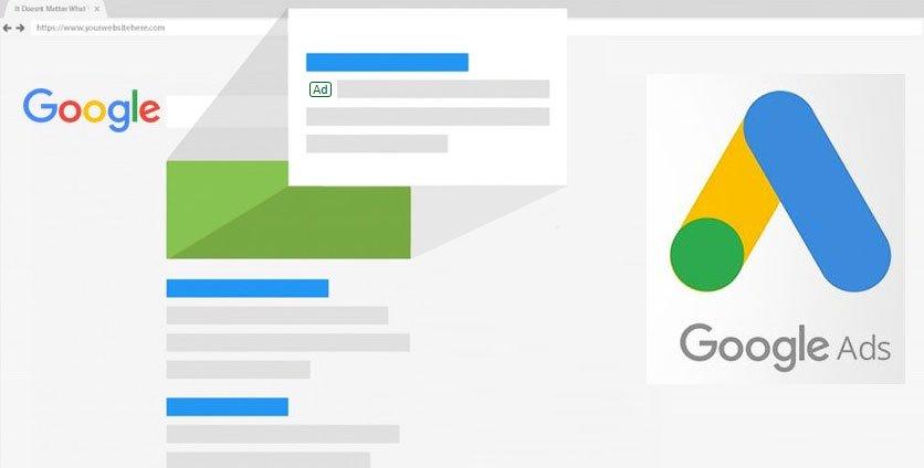 Google Ads oglaševanje